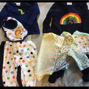 8 Piece Rainbow Baby Lot